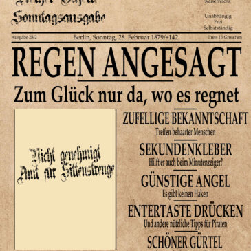 Aether Gazette am Sonntag (28/02/1879/+142)